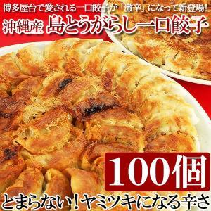 餃子 ボリュームたっぷり 島とうがらし一口餃子100個セット...