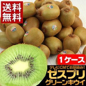 果物 キウイ ギフトランキング ニュージーランド産 ゼスプリグリーンキウイ 1ケース(25〜30玉入り) 送料無料 フルーツ 旬 (gc)
