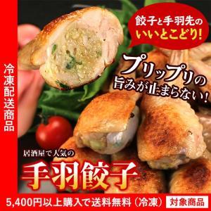 餃子 手羽餃子10個入り 鶏肉 手羽先 ギョウザ ぎょうざ(...