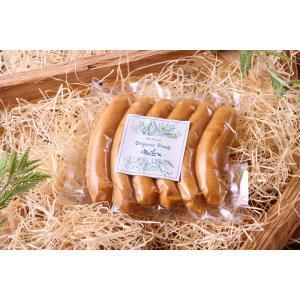 無添加 チーズソーセージ  オランダ産ゴーダチーズ オーガニックフーズ 中山道ハム organicfoods