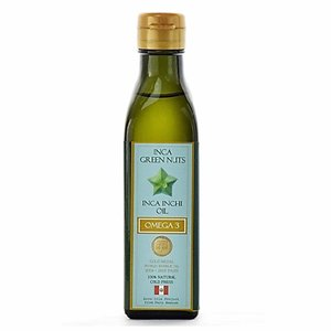 サチャインチオイル グリーンナッツオイル 180g 送料無料 エキストラバージン オーガニック 低温圧搾一番搾り オメガ3|organickitchen