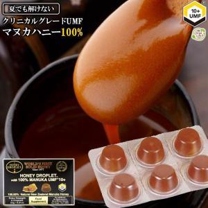 マヌカハニー のど飴 ハニードロップレット UMF  10+ 1箱 (6粒入り) 送料無料 37ハニー ハチミツ 日本 蜂蜜のど飴 ニュージーランド産
