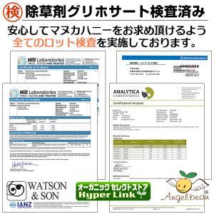 マヌカハニー MGO200+ Angelbean ニュージーランドMPI認証 生はちみつ [500g]|organicnoni|05