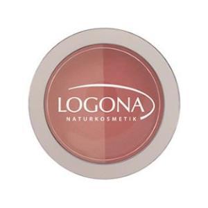 ロゴナ チークカラー デュオ 02ピーチ&アプリコット オーガニック Logon ネコポス利用可能 数量限定特価