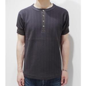 ダッパーズ|Dapper's ヘンリー Tシャツ Standard Four Button Henley Rib Tee 1121|organweb