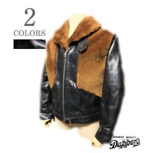 ダッパーズ レザージャケット Dapper's Shawl Collar Grizzly Jacket 1141A|organweb