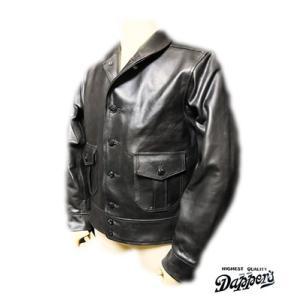 ダッパーズ 10着限定 カーフスキンレザースポーツジャケット Dapper's  A-1 Type Calfskin Leather Sports Jacket  1151|organweb