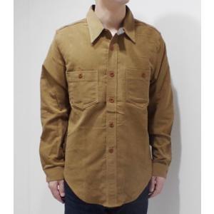 ダッパーズ 長袖 ワークシャツ Dapper's 30's Style Moleskin Work Shirts 1265|organweb