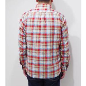 フェローズ 長袖 ボタンダウンシャツ PHERROW'S CHECK BUTTONDOWN SHIRT 19W-PBD2-CH|organweb|02