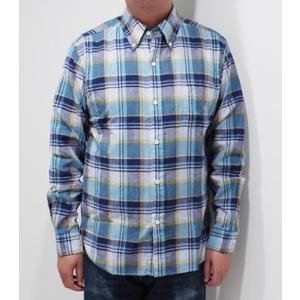 フェローズ 長袖 ボタンダウンシャツ PHERROW'S CHECK BUTTONDOWN SHIRT 19W-PBD2-CH|organweb|03