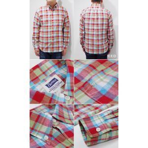 フェローズ 長袖 ボタンダウンシャツ PHERROW'S CHECK BUTTONDOWN SHIRT 19W-PBD2-CH|organweb|05