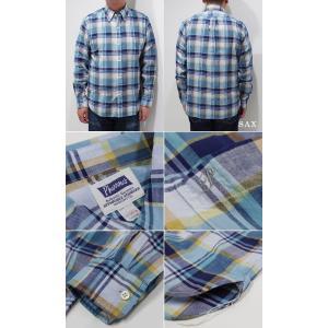 フェローズ 長袖 ボタンダウンシャツ PHERROW'S CHECK BUTTONDOWN SHIRT 19W-PBD2-CH|organweb|06