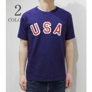 ダブルワークス 半袖 プリントTシャツ DUBBLEWORKS USA SST  37001-USA|organweb