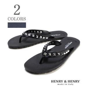 HENRY & HENRY Made in ITALY ラバービーチサンダル|フリッパー  FLIPPER PYRAMID  42052|organweb