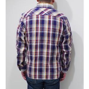 ウエス 長袖 チェックワークシャツ UES 先染めヘビーネルシャツ 501951 organweb 04