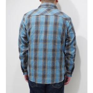 ウエス 長袖 チェックワークシャツ UES 先染めヘビーネルシャツ 501952 organweb 04