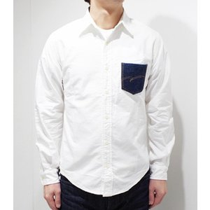 STUDIO D'ARTISAN ステュディオダルチザン スヴィンゴールド|デニムポケットシャツ スヴィンゴールドシャツ 5582