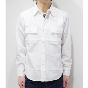 フェローズ 長袖 シャンブレーシャツ PHERROW'S 40's MODEL CHAMBRAY WORK SHIRT 770WS|organweb|04