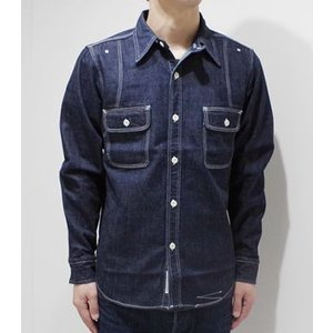 フェローズ 長袖 シャンブレーシャツ PHERROW'S 40's MODEL CHAMBRAY WORK SHIRT 770WS|organweb|06