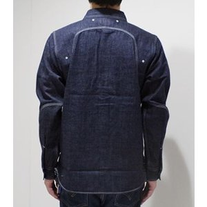 フェローズ 長袖 シャンブレーシャツ PHERROW'S 40's MODEL CHAMBRAY WORK SHIRT 770WS|organweb|07