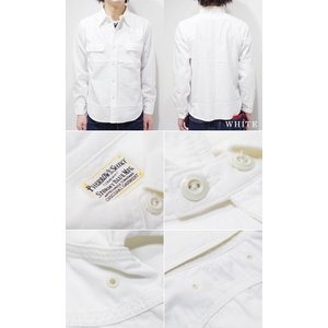 フェローズ 長袖 シャンブレーシャツ PHERROW'S 40's MODEL CHAMBRAY WORK SHIRT 770WS|organweb|09