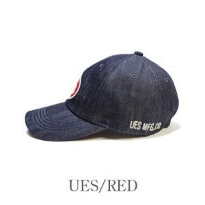 ウエス DENIM BALL CAP UES デニムベースボールキャップ 82DC organweb 07