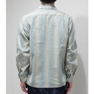 706union 長袖シャツ|イタリアンカラーシャツ STRIPE CORDS SHIRT 844|organweb|04