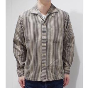 706union 長袖シャツ|イタリアンカラーシャツ STRIPE CORDS SHIRT 844|organweb|05