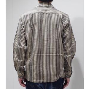 706union 長袖シャツ|イタリアンカラーシャツ STRIPE CORDS SHIRT 844|organweb|06