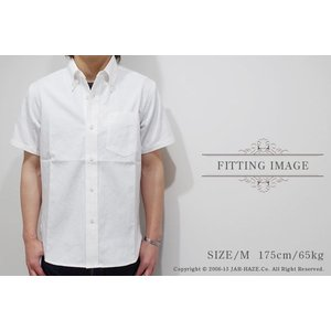 ベアフット|BEAR FOOT 半袖 オックスフォードボタンダウンシャツ BF-0233|organweb|05