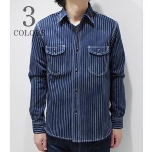 ベアフット|BEAR FOOT ワークシャツ STRIPE WORK SHIRT BF-0366|organweb