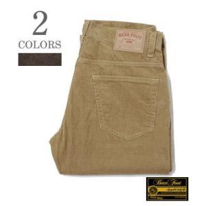 ベアフット コーデュロイパンツ BEAR FOOT 5POCKET CORDUROY PANTS BF-0369|organweb