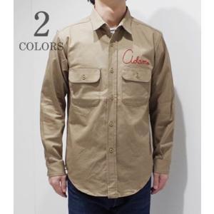 BARNS|バーンズ チノ|ワークシャツ UNION CUSTOM WORK SHIRT BR-7315|organweb
