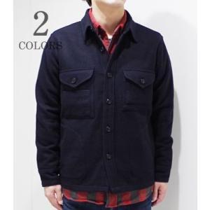 BARNS|バーンズ シャツジャケット MELTON CPO JACKET BR-7345|organweb