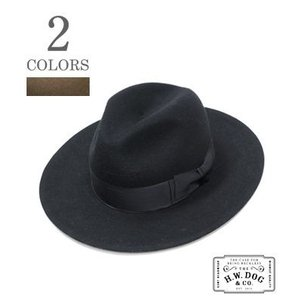 THE H.W.DOG&CO. フェルトハット HAT FRONT-H D-00006-H|organweb