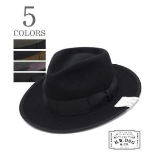 THE H.W.DOG&CO. フェルトハット HAT POINT6.5 D-00008|organweb