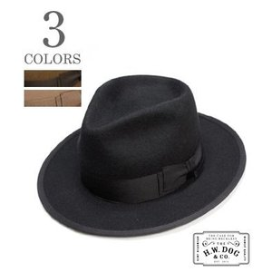 THE H.W.DOG&CO. フェルトハット HAT POINT-H D-00008-H|organweb