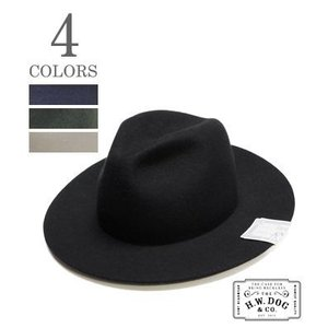 THE H.W.DOG&CO. フェルトハット HAT FRONT 7.5 FOLD-SERBIA D-00047|organweb