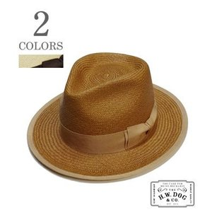 THE H.W.DOG&CO. ストローハット POINT-G3 PANAMA HAT D-00134|organweb