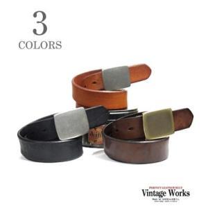 ヴィンテージワークス Vintage Works ハンドメイドレザーベルト DH5524|organweb