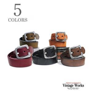 ヴィンテージワークス Vintage Works ハンドメイドレザーベルト DH5536|organweb