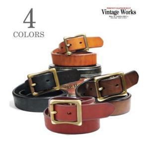ヴィンテージワークス Vintage Works ハンドメイドレザーベルト DH5679|organweb