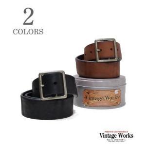 ヴィンテージワークス Vintage Works ハンドメイドレザーベルト DH5697|organweb