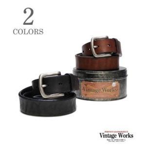 ヴィンテージワークス Vintage Works ハンドメイドレザーベルト DH5702|organweb