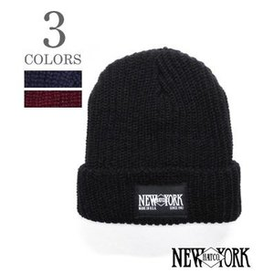 ニューヨークハット ニットキャップ NEW YORK CHUNKY NEW YORK HAT PATCH NYH4581|organweb