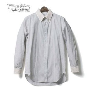 ORGUEIL オルゲイユ 長袖 クレリック ボタンダウンシャツ Stripe Button Down Shirt OR-5026B organweb
