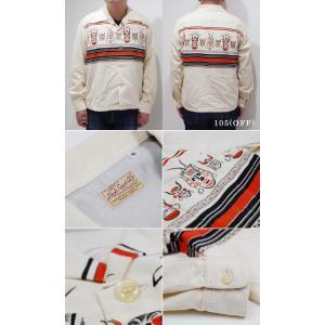 スタイルアイズ 長袖 オープンカラーシャツ STYLE EYES AFRICAN MASK SPORTS SHIRT SE28257|organweb|05