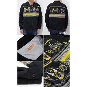 スタイルアイズ 長袖 オープンカラーシャツ STYLE EYES AFRICAN MASK SPORTS SHIRT SE28257|organweb|06