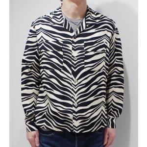 スターオブハリウッド 長袖 オープンカラーシャツ STAR OF HOLLYWOOD ZEBRA L/S OPEN SHIRT SH27878 organweb