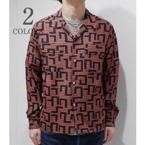 スターオブハリウッド 長袖 オープンカラーシャツ STAR OF HOLLYWOOD LITTLE DIAMOND L/S OPEN SHIRT SH27880 organweb